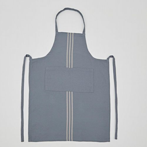 Recycled P.E.T Bottle Linen - Apron - Grey or Blue